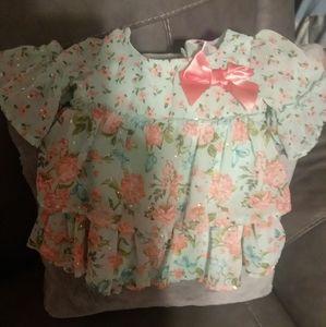 Girls spring dress 2T